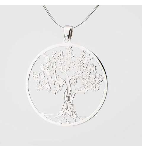 Srebrna zawieszka drzewo życia