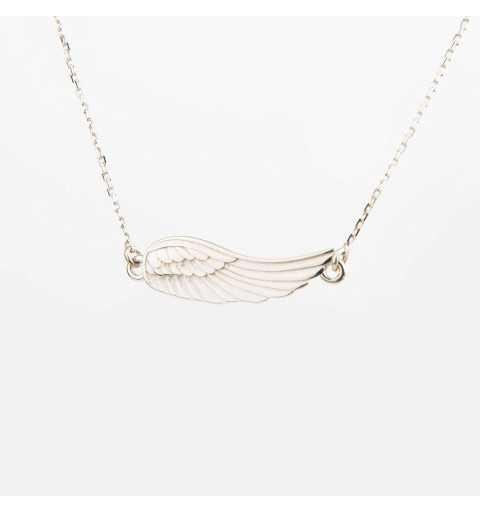 Srebrny naszyjnik skrzydełko