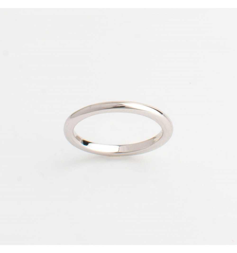 Srebrny knuckle ring / pierścionek na mały palec