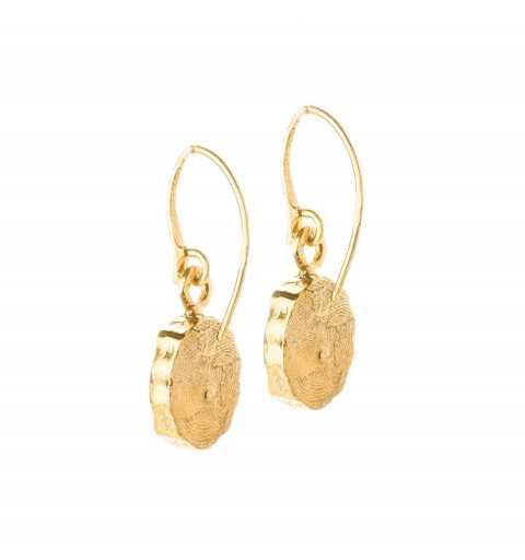 Srebrne kolczyki MOTYLE złocone królewskim złotem 24 k z zielonymi Kryształami Swarovskiego Emerald