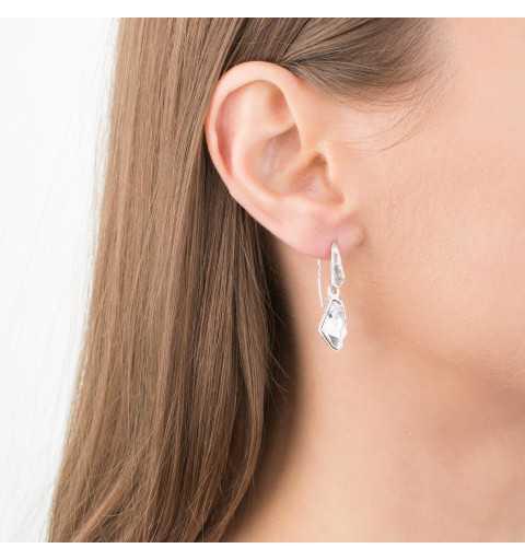 Srebrne kolczyki MOTYLE antyczne srebro z Kryształami Swarovskiego Crystal MS4542