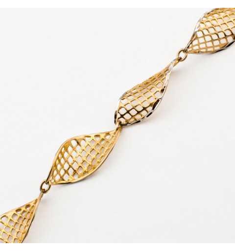 Oryginalna złota bransoletka