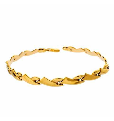 Złota bransoletka...