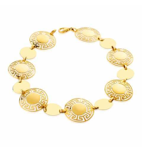 Złota bransoleta grecki...