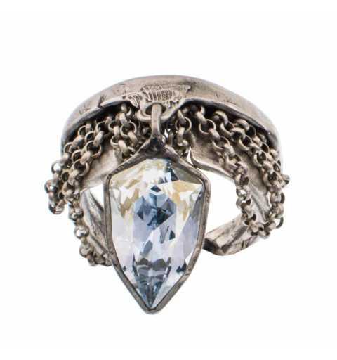 Srebrny pierścionek MOTYLE...