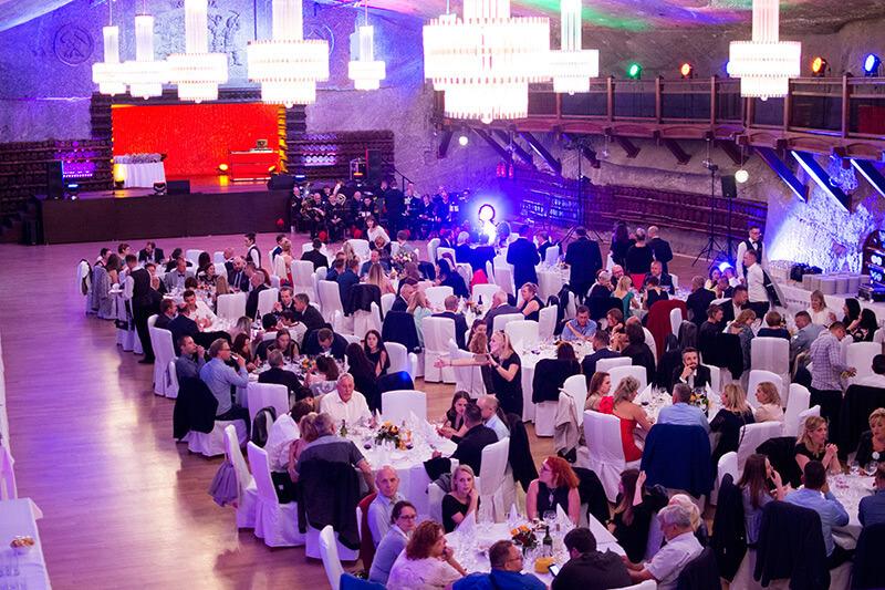 targi biżuterii jubinale 2017 bal jubilerów w kopalni soli w wieliczce wielka gala