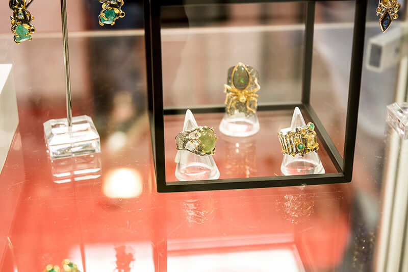 cozette boutique biżuteria autorska wystawa biżuterii kraków 2017 oryginalna biżuteria