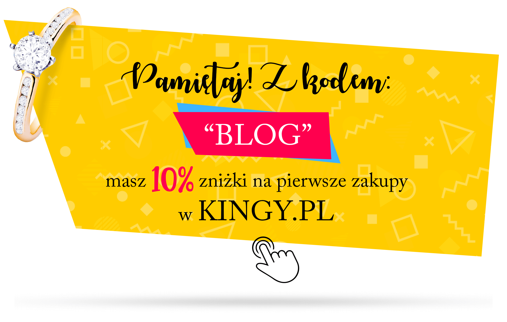 kod zniżkowy do sklepu z biżuterią kingy.pl. Kupon zniżkowy